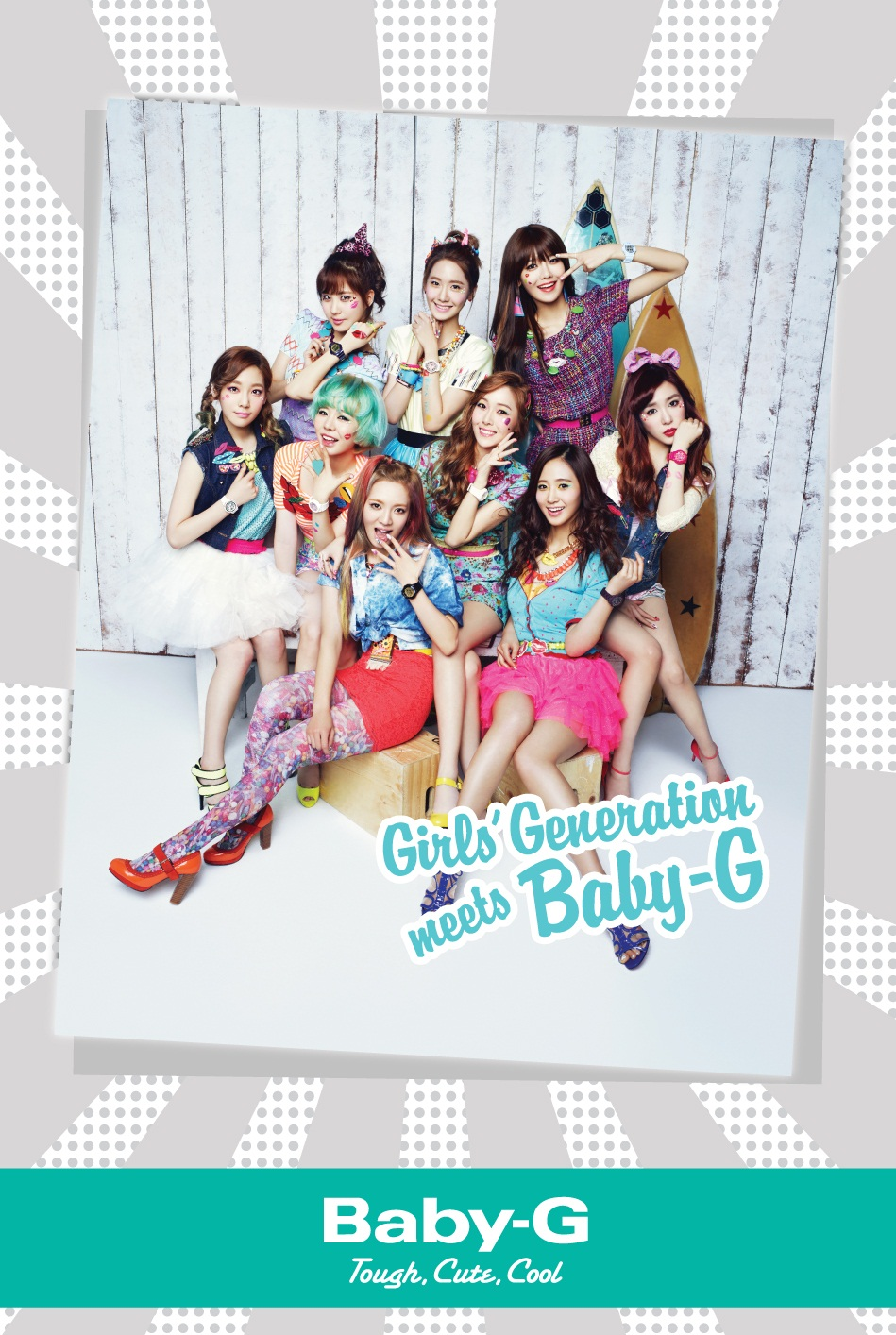 Girls' Generation, Casio Baby-G, promo [PH201027083348]