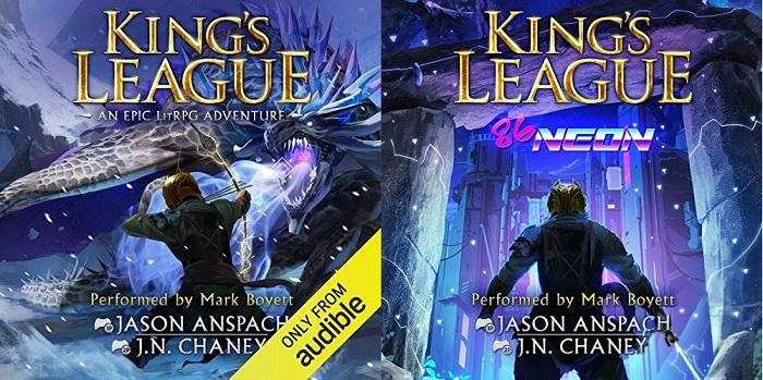 King's League Series Book 1-2 - Jason Anspach, JN Chaney