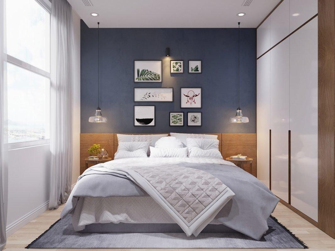 Выбираем кровать для спальни в скандинавском стиле