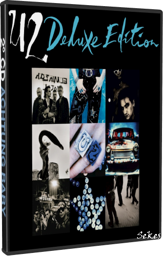 U2 - Achtung Baby (Super Deluxe Edition) (2011, 4xDVD9)