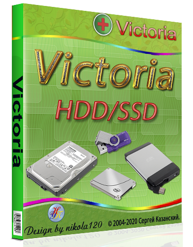 Victoria HDD SSD 5.29 Portable [2020,Multi/Ru]