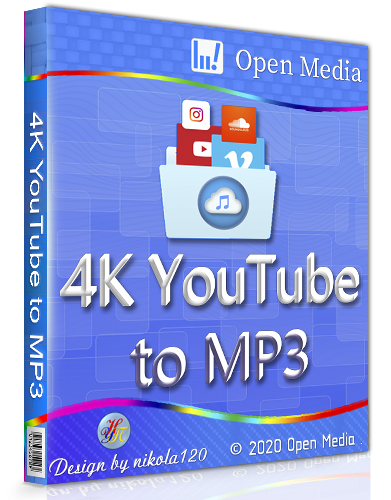 4K YouTube to MP3 3.13.4.3950 RePack (& Portable) by TryRooM [2020,Multi/Ru]