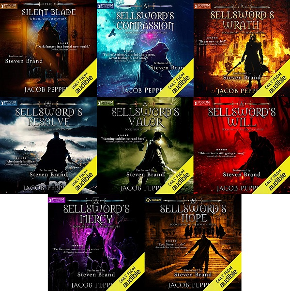 The Seven Virtues Series Book 0.5-7 - Jacob Peppers