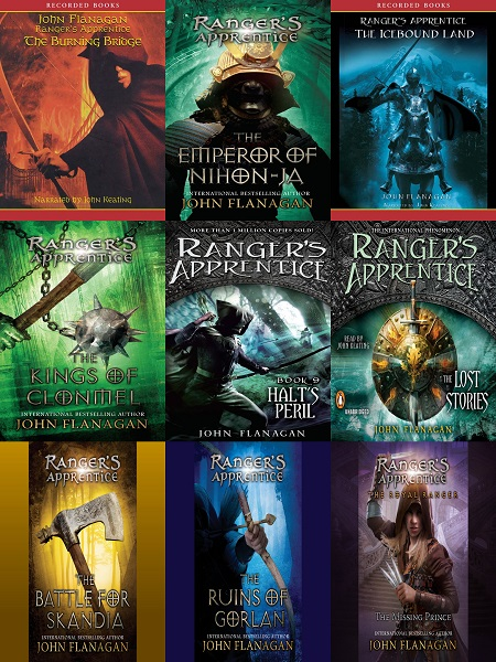 Ranger's Apprentice Series Books 1-14 - John Flanagan