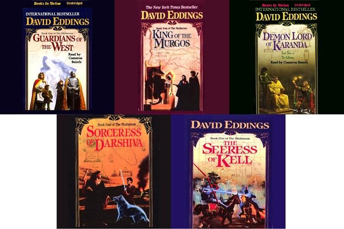 Malloreon Series Books 1-5 - David Eddings