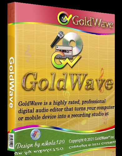 GoldWave 6.53 RePack (& Portable) by TryRooM [2021, Ru/En]