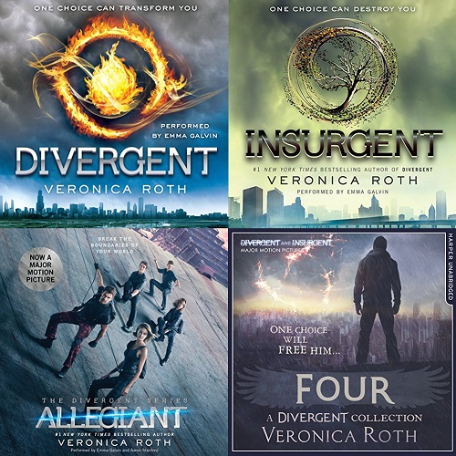 Divergent Series Book 1-4 - Veronica Roth