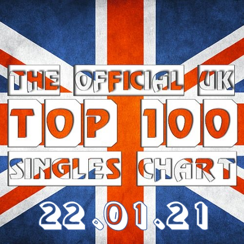 The Official UK Top 100 Singles Chart (22-Jan-2021)