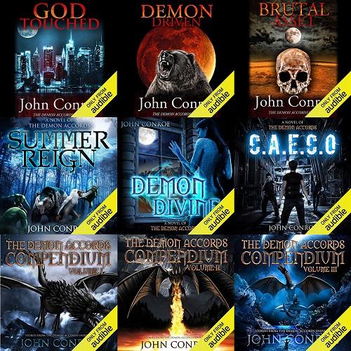 The Demon Accords Series Books 1-19 - John Conroe