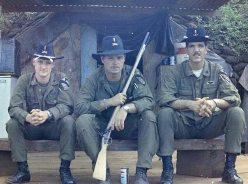 """Использование кавалерийской шляпы """"Стетсон"""" в армии США"""
