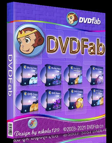 DVDFab 12.0.1.7 RePack (& Portable) by elchupacabra [2021,Multi/Ru]