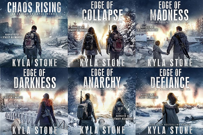 Edge of Collapse Series Book 1-6 - Kyla Stone