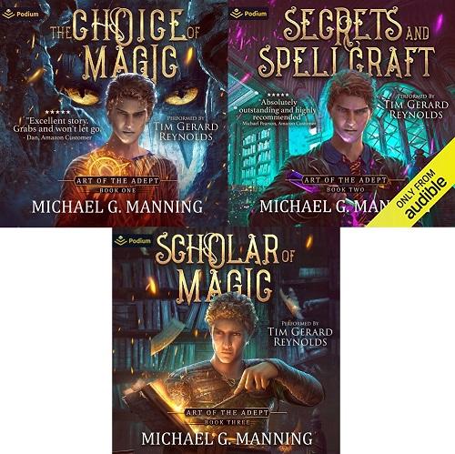 Art of the Adept Series Book 1-3 - Michael G. Manning