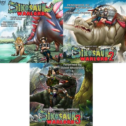 Dinosaur Warlord Series Book 1-3 - Marcus Sloss