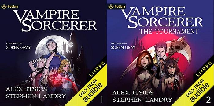 Vampire Sorcerer Series Book 1-2 - Alex Itsios, Stephen Landry