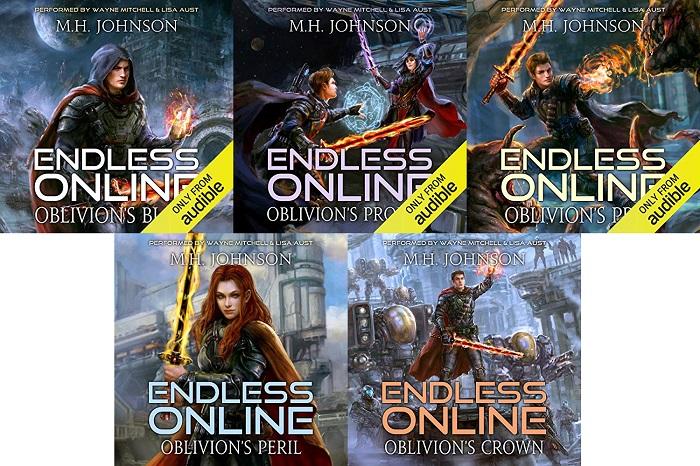 Endless Online Series Book 1-5 - M.H. Johnson