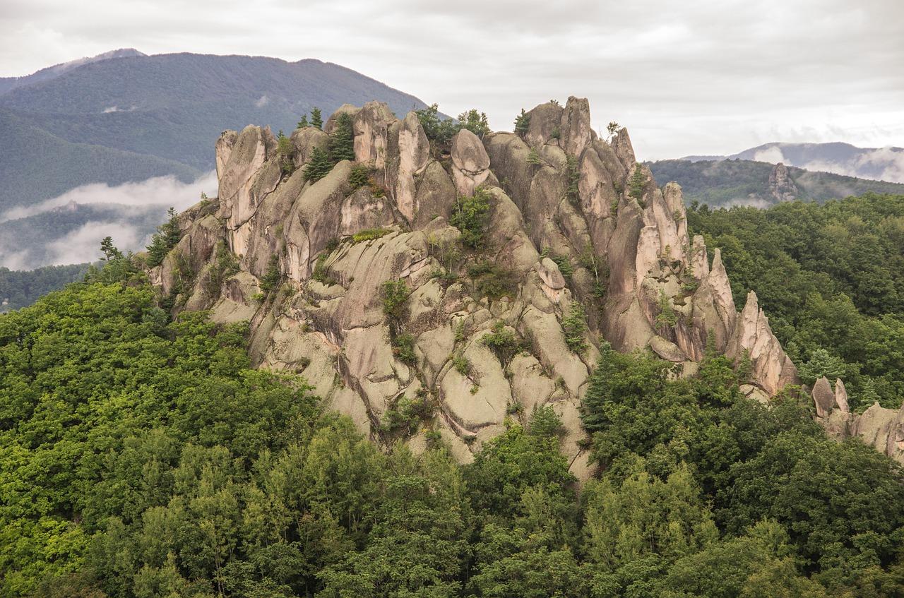 Горы Приморья