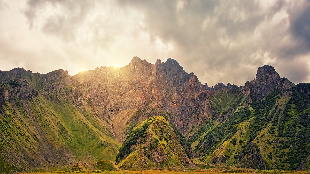 Горная часть Краснодарского края