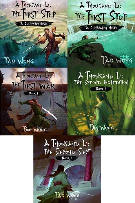 A Thousand Li Series Book 1-5 - Tao Wong