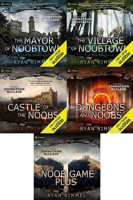 Noobtown  Series Book 1-5 - Ryan Rimmel