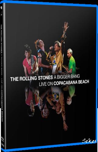 The Rolling Stones - A Bigger Bang Live on Copacabana Beach (2021, Blu-ray)