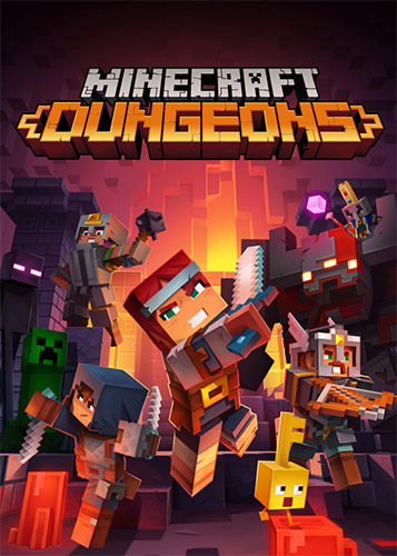 Minecraft Dungeons: Ultimate Edition – v1.10.1.0_6739574 + 6 DLCs + Multiplayer