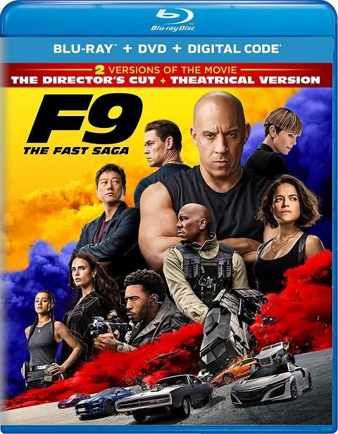 Форсаж 9 / F9 (2021) BDRip 1080p | iTunes | Режиссерская версия