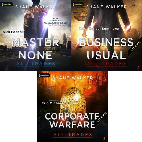 All Trades Series Books 1-3 - Shane Walker