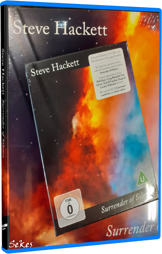 Steve Hackett - Surrender Of Silence (Limited edition) (2021, Blu-ray)