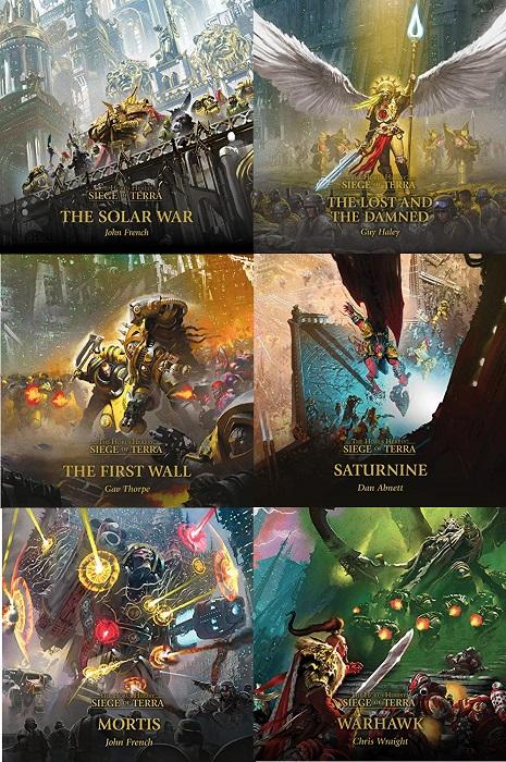 Siege of Terra: The Horus Heresy Series Books 1-6 - John French/Guy Haley/Gav Thorpe/Dan Abnett/John French/Chris Wraight