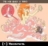 Femdom / Женское доминирование [Ptcen] [1390 pic] [JPG,PNG,GIF] Hentai ART