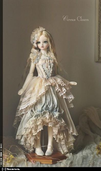 Платья для шарнирной куклы