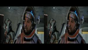Марсианин 3D / The Martian 3D   Горизонтальная анаморфная