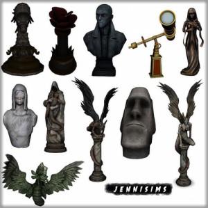 Статуи, скульптуры - Страница 2 10e8f629dafb4a20146bbf921f9e6292