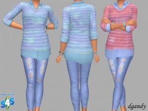 Повседневная одежда (комплекты с брюками, шортами)   - Страница 9 7ec3b93f07c6d94b1055017e40110fae