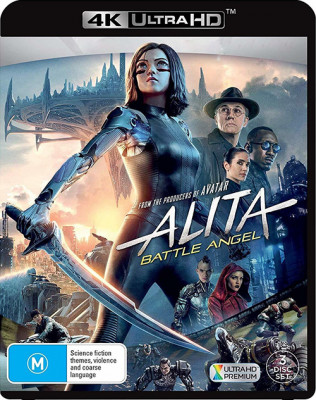 Алита: Боевой ангел / Alita: Battle Angel (2019)  BDRemux 2160p  |  HDR, Лицензия